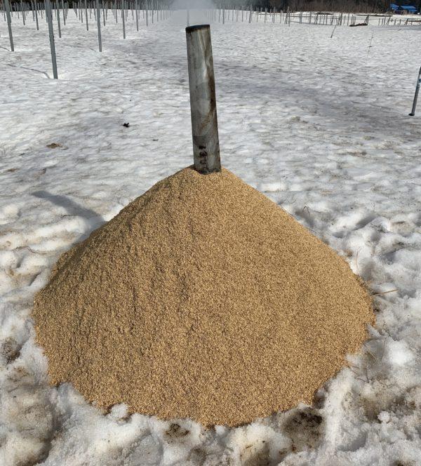 くん炭作り 失敗編