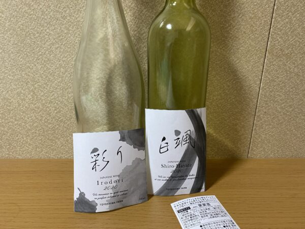 日本ワインのラベルについて